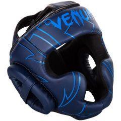 Боксерский шлем Venum Nightcrawler - синий