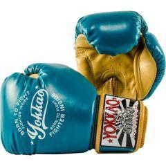 Боксерские перчатки Yokkao Vintage Blue