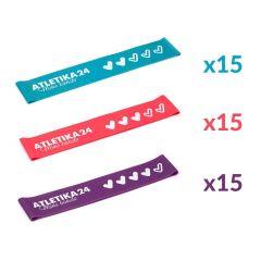 Набор Mini Bands Club Pack Atletika24 - 45шт.