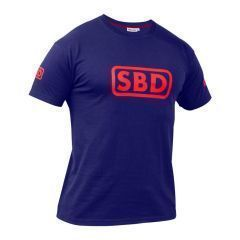 Женская футболка SBD (ограниченная серия) - Navy & Red