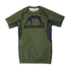 Рашгард Manto Logo Olive