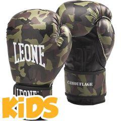 Детские боксерские перчатки Leone Camouflage