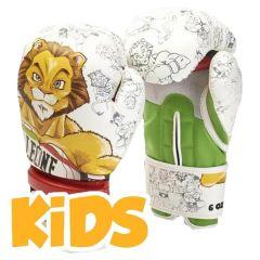 Детские боксерские перчатки Leone Leonard