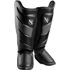 Защита голени и стопы (шингарды) Hayabusa T3 - черный/серый