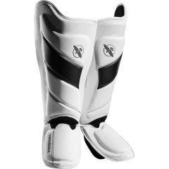 Защита голени и стопы (шингарды) Hayabusa T3 - белый/черный