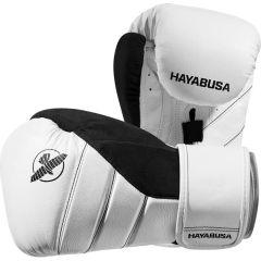 Боксерские перчатки Hayabusa T3 - белый/черный