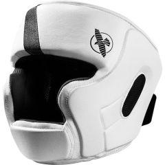 Боксерский шлем Hayabusa T3 - белый/черный