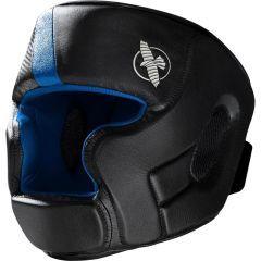 Боксерский шлем Hayabusa T3 - черный/синий