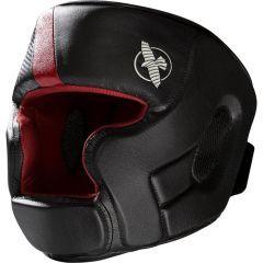 Боксерский шлем Hayabusa T3 - черный/красный