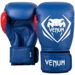 Боксерские перчатки Venum Contender Blue/White-Red