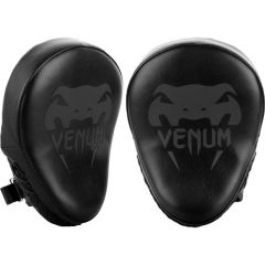 Тренерские лапы Venum Light Black/Black