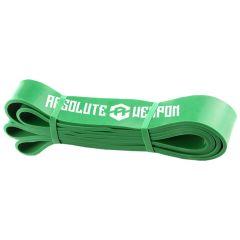 Зеленая резиновая петля Absolute Weapon (до 50 кг), 45мм