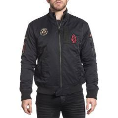 Бомбер Affliction Fly High Black