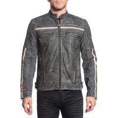 Кожанная куртка Affliction Black Moon Riders