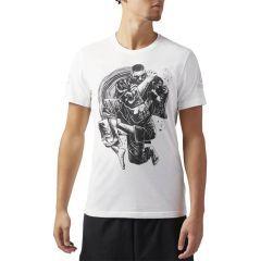 Спортивная футболка Reebok Combat x GG Jiu Jitsu