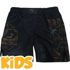 Детские мма шорты Bad Boy Warrior Spirit