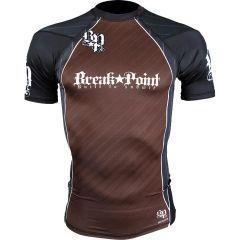 Рашгард Break Point - коричневый/черный