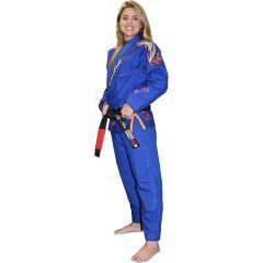 Женское кимоно (ги) для БЖЖ Break Point Beija-Flor - синий