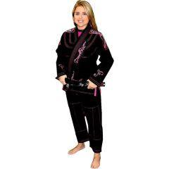 Женское кимоно (ги) для БЖЖ Break Point Beija-Flor - черный