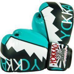 Боксерские перчатки Yokkao Frost Blue