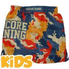 Детские ММА шорты Hardcore Training Autumn Camo