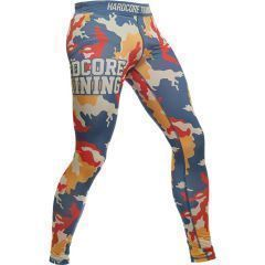 Компрессионные штаны Hardcore Training Autumn Camo