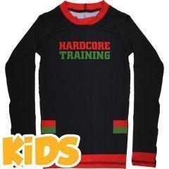 Детский рашгард Hardcore Training Red-Green