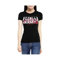 Женская футболка Hardcore Training Girls Army