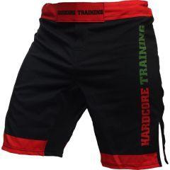 ММА шорты Hardcore Training Red-Green