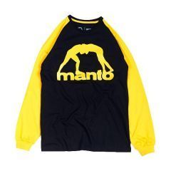 Лонгслив Manto Vibe Black