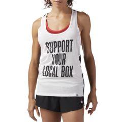 Женская майка Reebok CrossFit Local Box