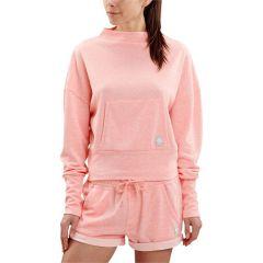 Женская кофта-худи Skins Fluro Peach Marle SP40300051036