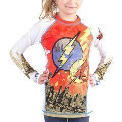 Детский рашгард Fusion The Flash Crimson Comet