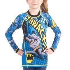 Детский рашгард Fusion The Flash Batman Thwack