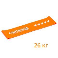 Оранжевая петля Mini Bands PRO (26 кг) Atletika24 - 30*7,5 см