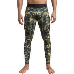Компрессионные штаны Grips Woodland Camo