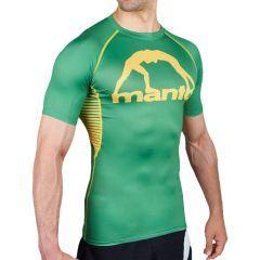 Рашгард Manto Logo Green