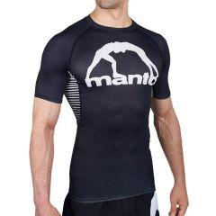 Рашгард Manto Logo Black/White