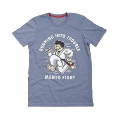 Футболка Manto Trouble Melange