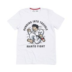 Футболка Manto Trouble White