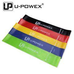 Резинки для фитнеса (mini bands) U-POWEX - набор 5 шт.