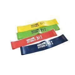 Резинки для фитнеса (mini bands) Original FitTools диаметр 61 см - 4 шт.