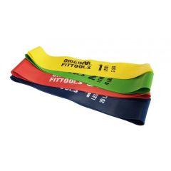 Резинки для фитнеса (mini bands) Original FitTools - 4 шт.
