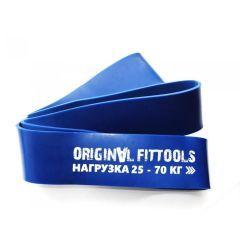 Синяя резиновая петля Original FitTools (25 - 70 кг), 64 мм