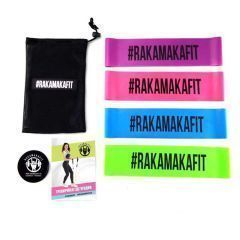 Резинки для фитнеса (mini bands) RAKAMAKAFIT - 4 шт.