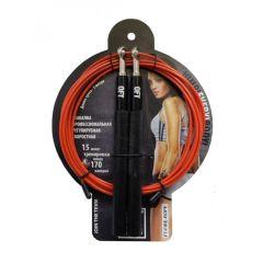 Скоростная скакалка Original FitTools FT-FIRE-ROPE