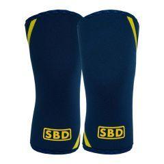 Наколенники SBD Knee Sleeves 7мм - 2 шт. (летняя серия) - черный/желтый
