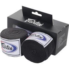 Боксерские бинты Fairtex Black 3м