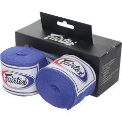 Боксерские бинты Fairtex Blue 4.5м