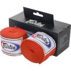 Боксерские бинты Fairtex Red 3м